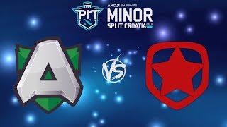 [RU] Alliance vs. Gambit Esports - OGA Dota PIT Minor 2019 Playoff BO3 @4liver