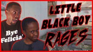 LITTLE BLACK BOY RAGES!! - Black Ops 3 Gameplay ft. Trent