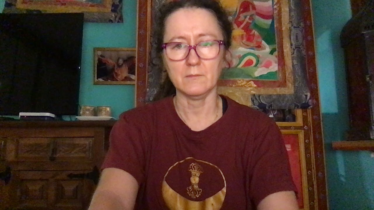 Lama Gangchen Tantric Self-Healing 2- Commentary by Lama Caroline - part 18  (EN)