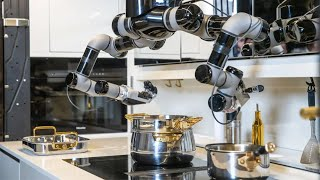 video: Kitchen robot will slave over a hot stove - for just £248,000