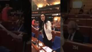 Արփինե Հովհաննիսյանի ելույթը ԵԽԽՎ նիստում