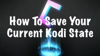 How To & Why You Should Back-up Your Kodi