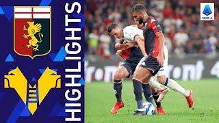 Genoa 3-3 Verona Pekan 6