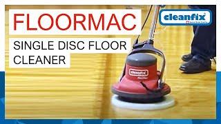 FloorMac - Single disc floor cleaner   Cleanfix