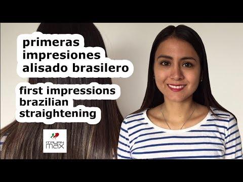 First Impression Brazilian Straightening with Italian Max