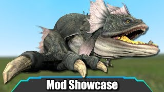 Garry's Mod: GIANT KILLER WORM (Tremors) | Mod Showcase - Most