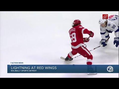 Red Wings lose opener despite Tyler Bertuzzi's four goals