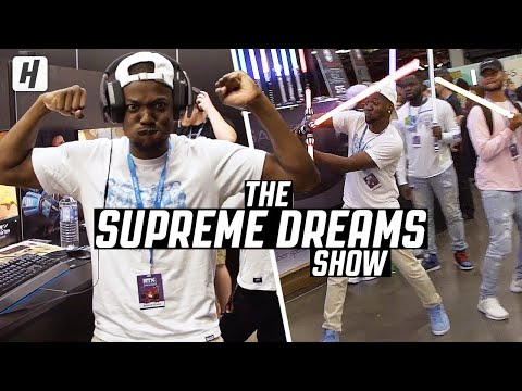 RDCworld1 Go To A Gaming & Anime Convention! | The Supreme Dreams Show