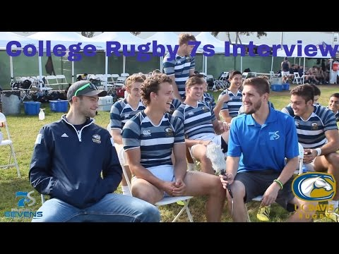 Captain Harrison Morrow's interview after 7's victory over Berkeley