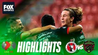 Xolos 2-1 Juárez | HIGHLIGHTS | Jornada 11 | Liga MX