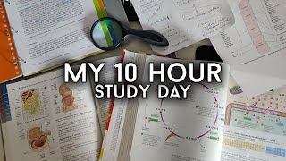 How I Study 10 Hours a Day Without Burning Out! [5:30am]
