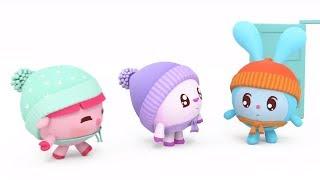 Малышарики - новые серии - По дороге (133 серия) Развивающие мультики для самых маленьких