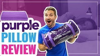 Purple Pillow Review - Better Than Memory Foam?! (UPDATED)
