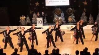 WDSF World Formation Latin 2011 - 1st place Zuvedra (HD)