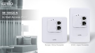 Y2015 IW-100 In-Wall Wifi AP Overview