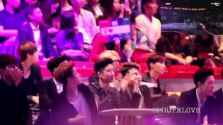 Bts Ikon Reaction To 2ne1 Cl Mama 2015 Fancams Part 3