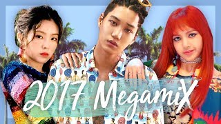 A YEAR IN K POP | 2017 Megamix (40 Songs!)