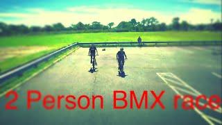 2 person BMX race