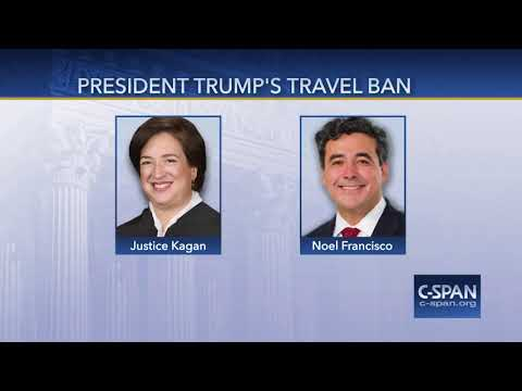 Word for Word: Supreme Court Hears Case on President's Travel Ban (C-SPAN)