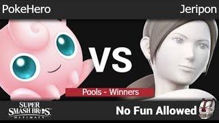 NFA 3 - PokeHero (Jigglypuff) vs  Jeripon (Wii Fit) Pools - Winners - SSBU