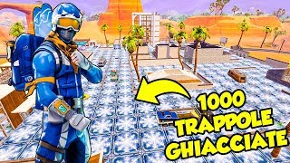 10000 FREEZING TRAP a Paradise Palm - Fortnite ITA