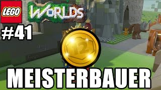 MEISTERBAUER 100 GOLDENE STEINE!!!!! | LEGO WORLDS PS4 PART 41 - Let´s Play Lego Worlds Deutsch