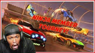 Kinda Sorta Semi-Pro Rocket League Ninja Tournament! (Rocket League Gameplay)