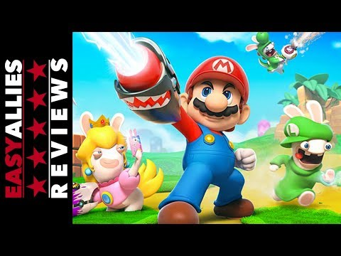 Mario + Rabbids Kingdom Battle - Easy Allies Review - YouTube video thumbnail