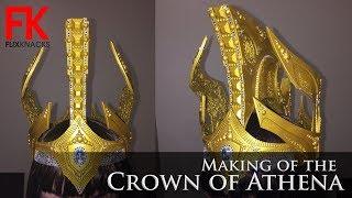 DIY Crown - Crown Of Athena Goddess Of War (my Own Design)