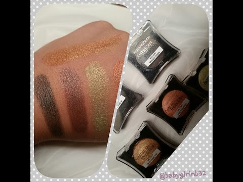 American Eyedol Baked Eyeshadow by kleancolor #5
