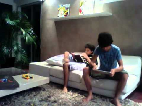 Video: Kid Slaps Brother Across Face With iPad