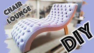 ШЕЗЛОНГ lounge armchair DIY кресло своими руками