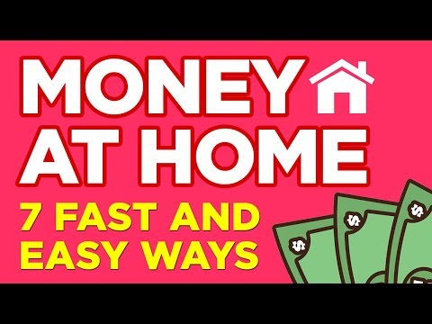 7 Fast & Easy Ways To Make Money At Home ($1,000/Month)