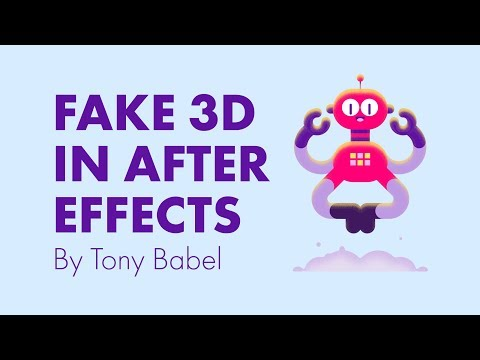 After Effects Tutorial – Fake 3D with Shape Layers