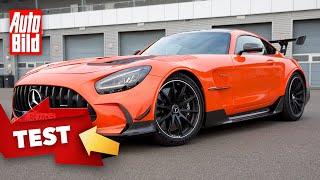 [AUTO BILD] Mercedes-AMG GT Black Series (2020) | Wir jagen das Biest über den Track