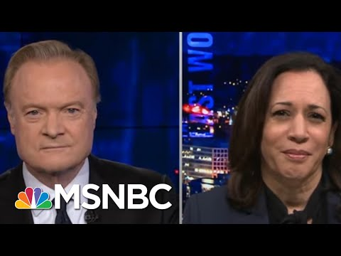 Sen. Harris: Trump Does Not Feel That Black Lives Matter | The Last Word | MSNBC