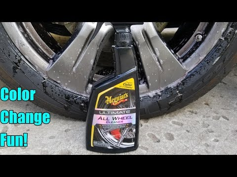Meguiars Ultimate All Wheel Cleaner Review on a Toyota Sienna SE.
