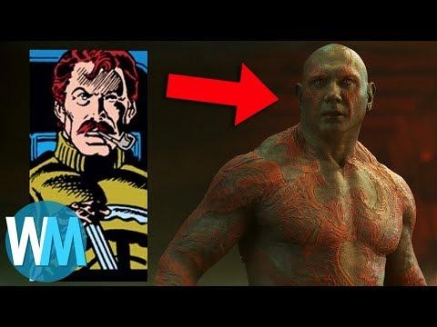 Superhero Origins: Drax the Destroyer