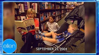 Ellen Gets Show Suggestions From Barnes & Noble Customers