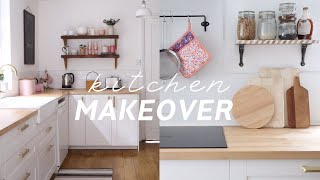 Creating The Pinterest Kitchen Of My Dreams ✨ Full Kitchen Makeover | UK Home Reno