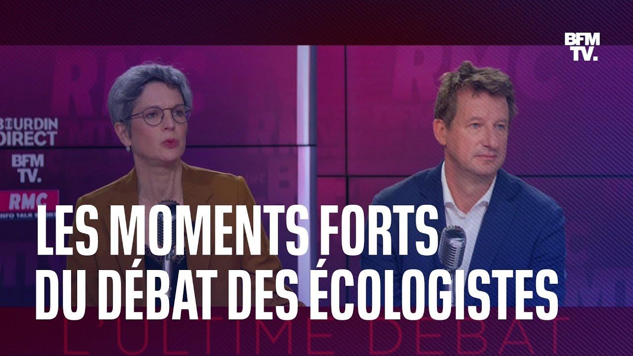 Jadot- Rousseau : les moments forts de l'ultime débat des écologistes en 3 minutes