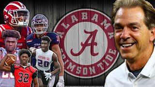 Alabamas 2020 Recruiting Class Should Be ILLEGAL!!! L Sharpe Sports