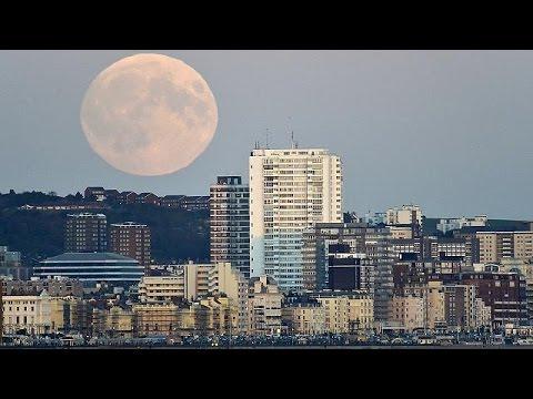 Έκλειψη Σελήνης και υπερπανσέληνος