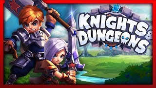 EXPLORING ENDLESS DUNGEONS!! Knights & Dungeons Gameplay Video