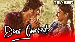 Dear Comrade (2020) Official Hindi Dubbed Teaser | Vijay Devarakonda, Rashmika, Shruti