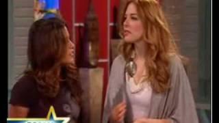 Рашель Лефевр, Nikki Reed & Rachelle Lefevre Talk New Moon With Maria