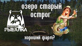 Старый острог - Русская Рыбалка 4 / Russian Fishing 4