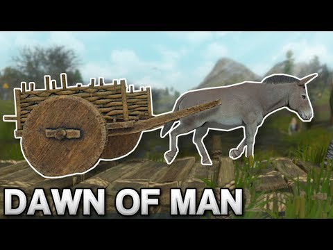 THE WHEEL & DONKEY CARTS! – Dawn of Man Gameplay – Prehistoric City Building Game