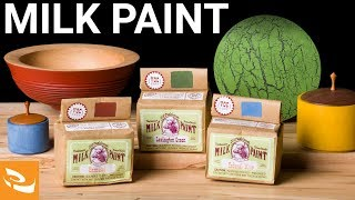 Applying Milk Paint (Woodturning How-to)