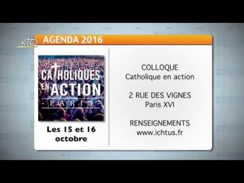 Agenda du 3 octobre 2016